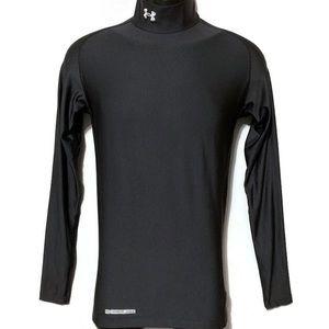 Under Armour Men Coldgear Black Compression Shirt